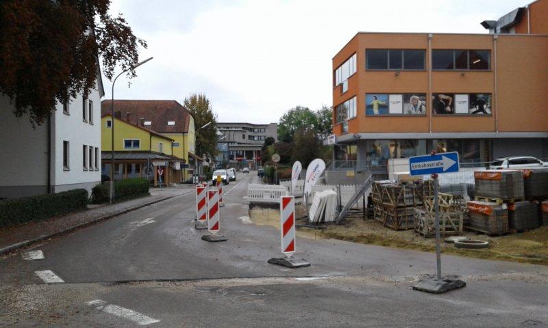 stadtwerke verlegen neue wasserleitung im stadtgraben 25 oktober 2016 aktuelles